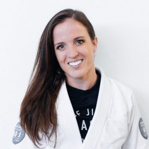 Chelsea teaching at the Art of Jiu Jitsu in Newport Beach