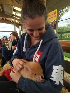 Chelsea would love a teacup pig